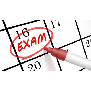 Dates for an annual Physiology Exam for students at the Medical University and the Medical College